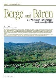 Der Abruzzen Nationalpark und seine Schätze - Erde und Wind