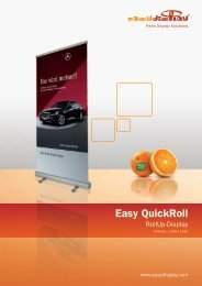 Rollup Display Easy Quickroll - Easydisplay.com