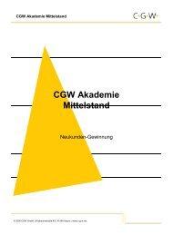CGW Akademie Mittelstand - CGW Gmbh