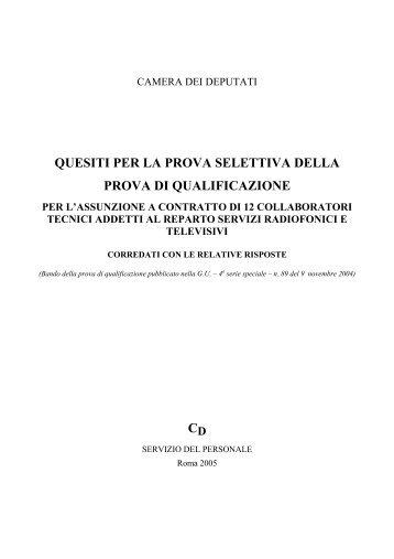 intero volume - Camera dei Deputati