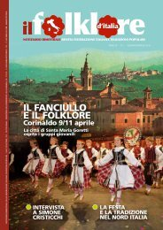 Gennaio-Febbraio 2010 - Federazione Italiana Tradizioni Popolari