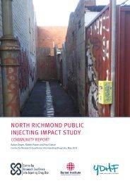 NORTH RICHMOND PUBLIC INJECTING IMPACT STUDY