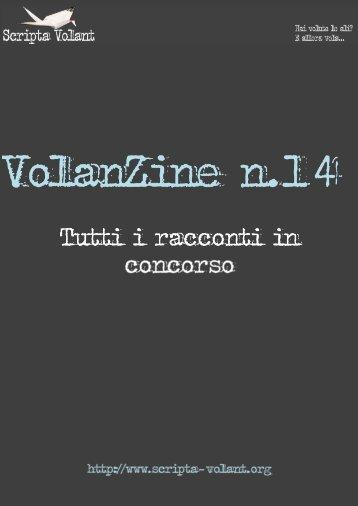 VolanZine n°14: tutti i racconti in concorso - Scripta Volant
