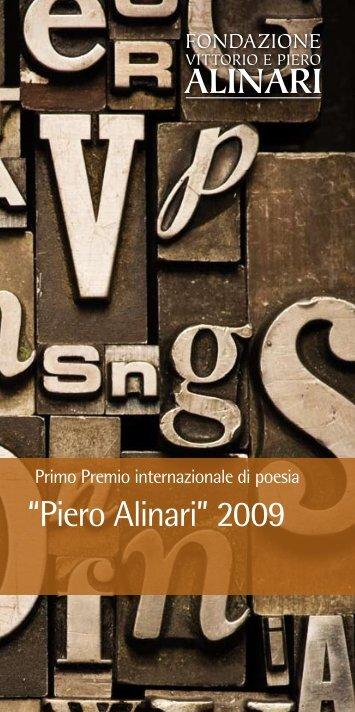 Premio Piero Alinari - Sinestesie