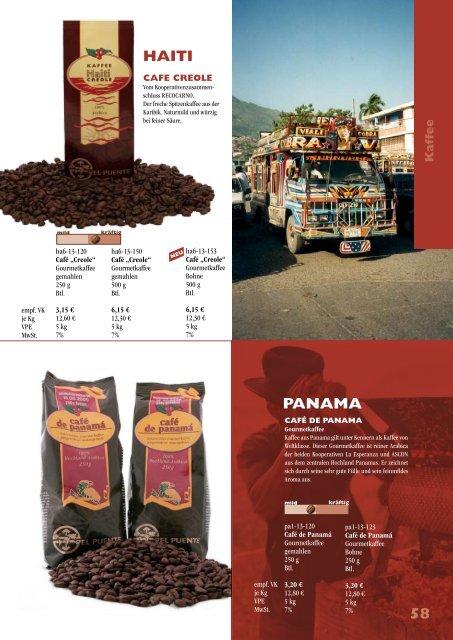 Kaffee 65 AGENDA - El Puente