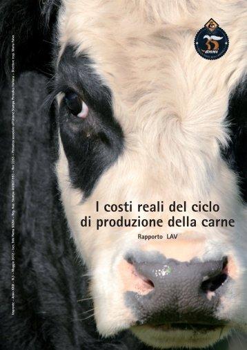"""Rapporto LAV """"I costi reali del ciclo di produzione della carne"""""""
