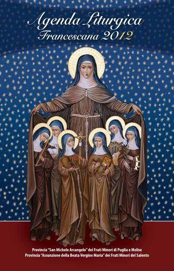 Agenda Liturgica - Provincia di San Michele Arcangelo