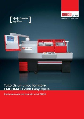 EMCOMAT E-200 Easy Cycle