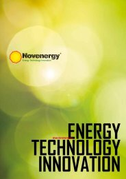 energy, technology, innovation - Novenergy