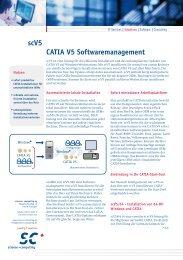 CATIA V5 Softwaremanagement scV5 - Science und Computing AG