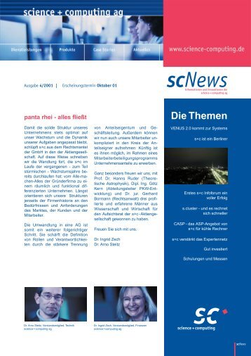 scNews - Science und Computing AG