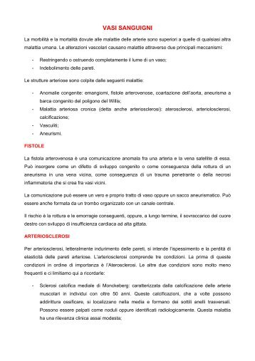 appunti di anatomia patologica ii - mediciunisa.it