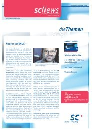 scNews 02/06 - Science und Computing AG