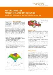 optiSLang Reliability Flyer
