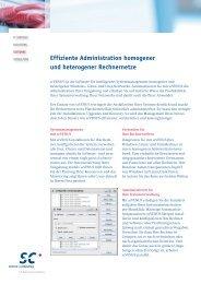 scVENUS Infoblatt - Science und Computing AG