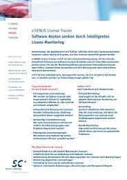 scVLT Infoblatt - Science und Computing AG
