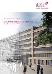 LHI Immobilienfonds Deutschland - Finanz- und Wirtschaftskanzlei ...