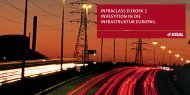 infraclass europa 1 investition in die infrastruktur europas. - Scope