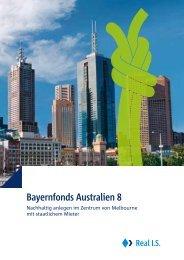 Bayernfonds Australien 8 - AVL Finanzdienstleistung Investmentfonds
