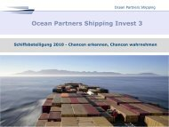 Ocean Partners Shipping Invest - Scope