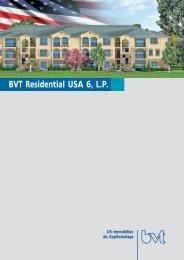 Gesellschaftsvertrag der BVT Residential USA 6, LP - Scope