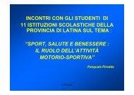 5 Sport e salute2 - Ufficio Scolastico Regionale per le Marche