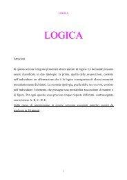 LOGICA - Liceo Mercalli