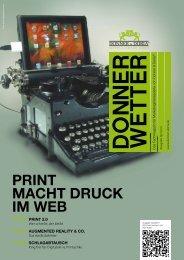 Print Macht Druck im WEB - Donner & Doria