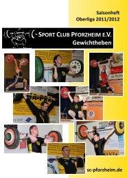Gewichtheben - Sport Club Pforzheim eV