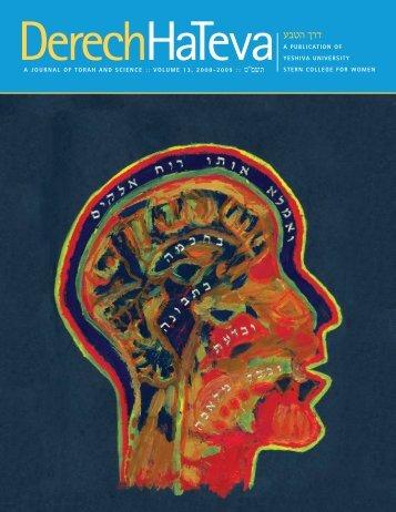 A JOURNAL OF TORAH AND SCIENCE ... - YU Torah Online