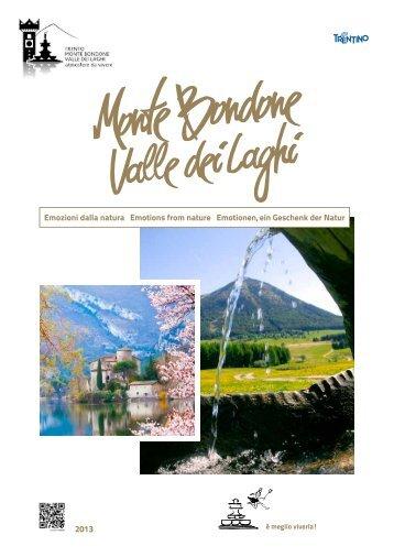 Brochure Monte Bondone Valle dei Laghi estate 2013