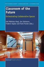 Classroom of the Future - Sense Publishers