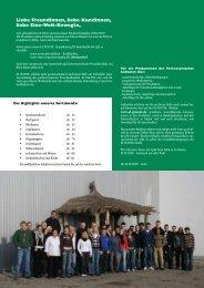 1 Inhalzsv erz eichnis Inhaltsverzeichnis - El Puente