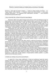 stato e società nella storia della scuola italiana - Rivista della Scuola ...