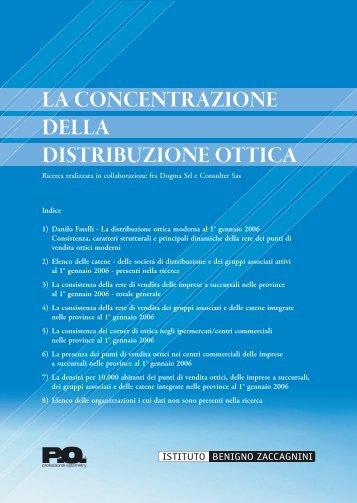 La concentrazione della distribuzione ottica - Professional Optometry
