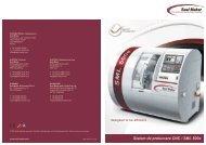 Sistem de prelucrare CNC / SML 500e - Seal Maker Produktion und