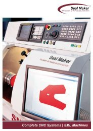 Complete CNC Systems - Seal Maker Produktion und
