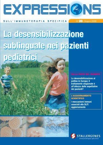La desensibilizzazione sublinguale nei pazienti ... - Stallergenes