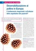 La desensibilizzazione sublinguale nei pazienti ... - Stallergenes - Page 4