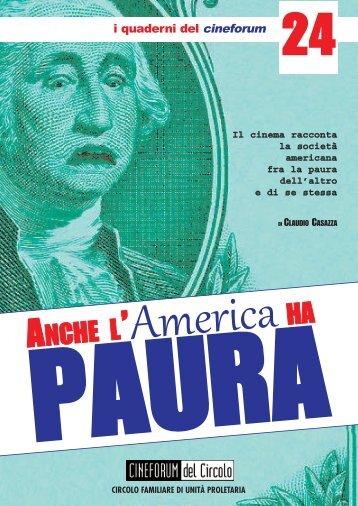 copertina paura america - Cineforum del Circolo