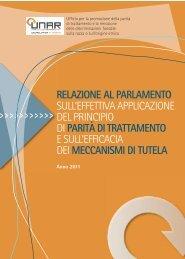 Relazione al Parlamento 2012.pdf - PAeS.I. - Regione Toscana