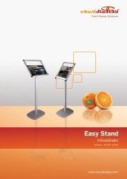 Easy Stand - Easydisplay.com
