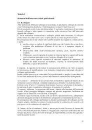 Modulo 5 Strumenti dell'intervento sociale professionale ... - Città Studi