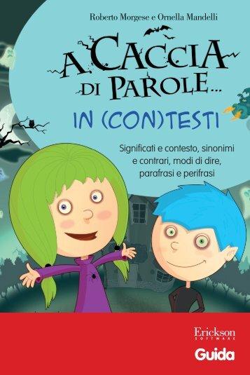 Guida A caccia parole... in (con)testi - Edizioni Centro Studi Erickson