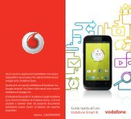 Guida rapida all'uso Vodafone Smart III