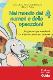 Guida Nel mondo dei numeri e delle operazioni 4 - Edizioni Centro ...