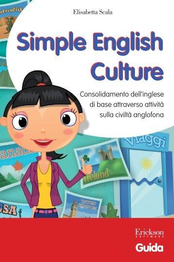 Guida Simple English Culture - Edizioni Centro Studi Erickson