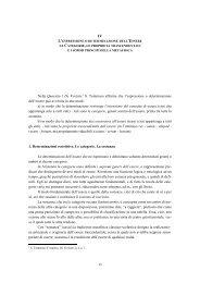 Nella Quaestio I De Veritate1 S. Tommaso ... - Home Page FTTR