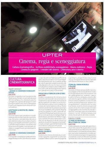 Cinema, regia e sceneggiatura - Upter Gratis