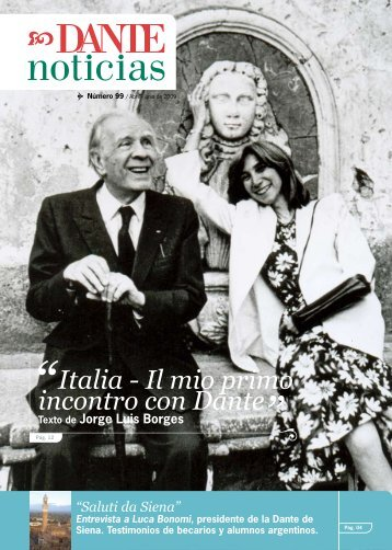 Italia - Il mio primo incontro con Dante - Asociación Dante Alighieri
